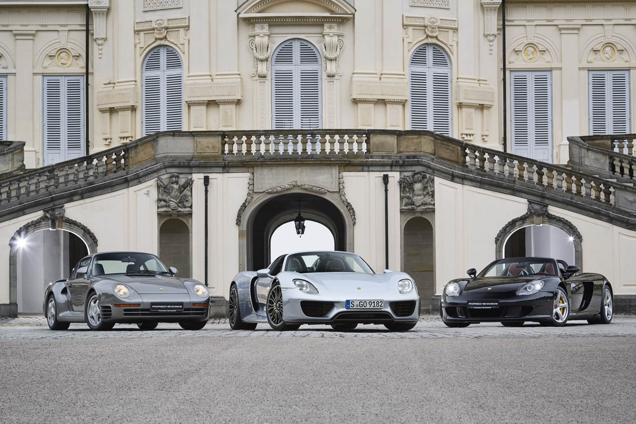 Porsche, con sistema de propulsión híbrido llegado de la competición