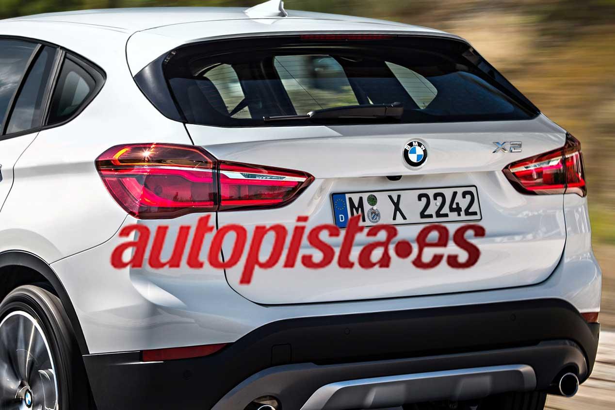 Nuevo BMW X2: a la venta en 2017