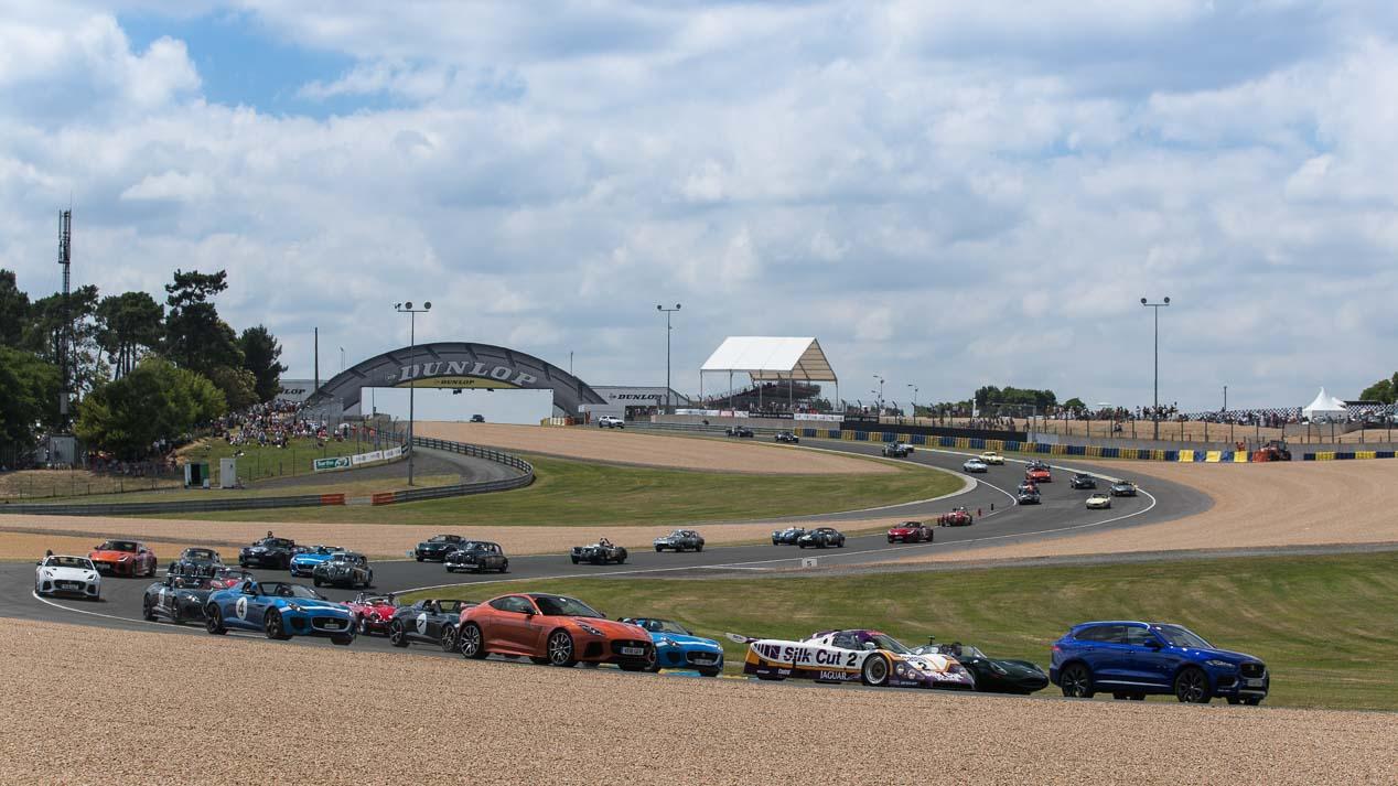 Jaguar en Le Mans Classic 2016
