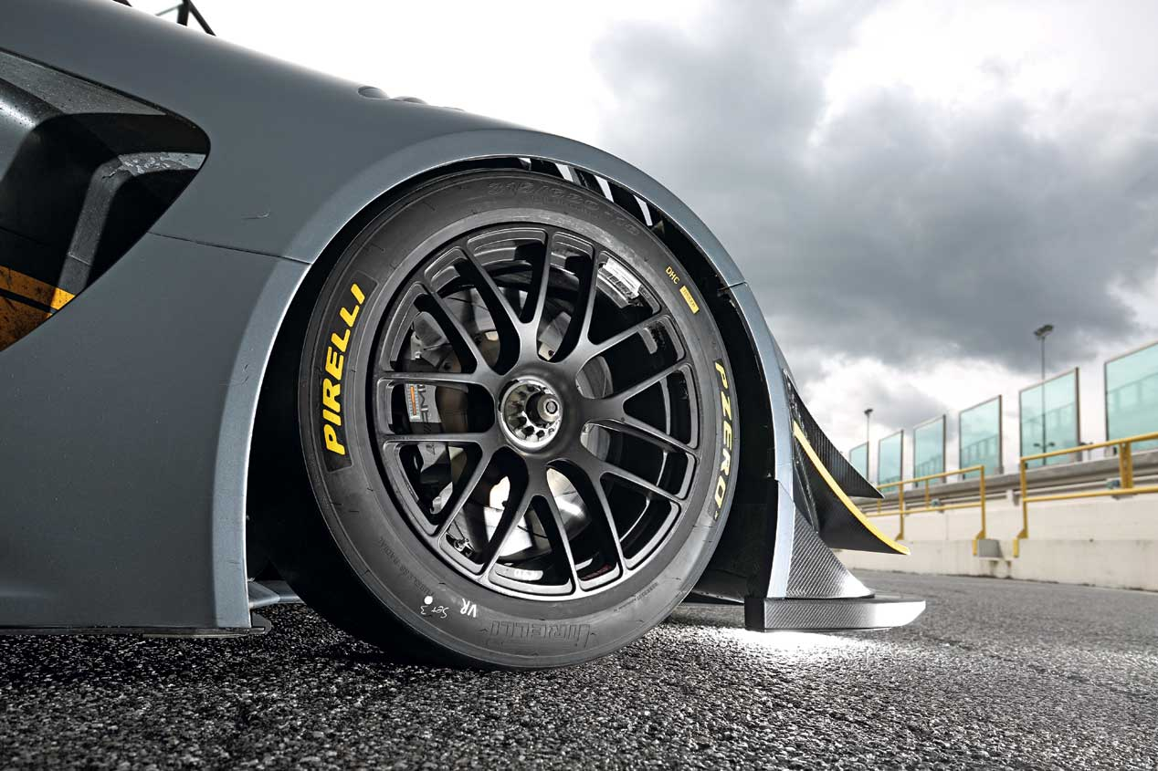 Prueba Mercedes-AMG GT GT3