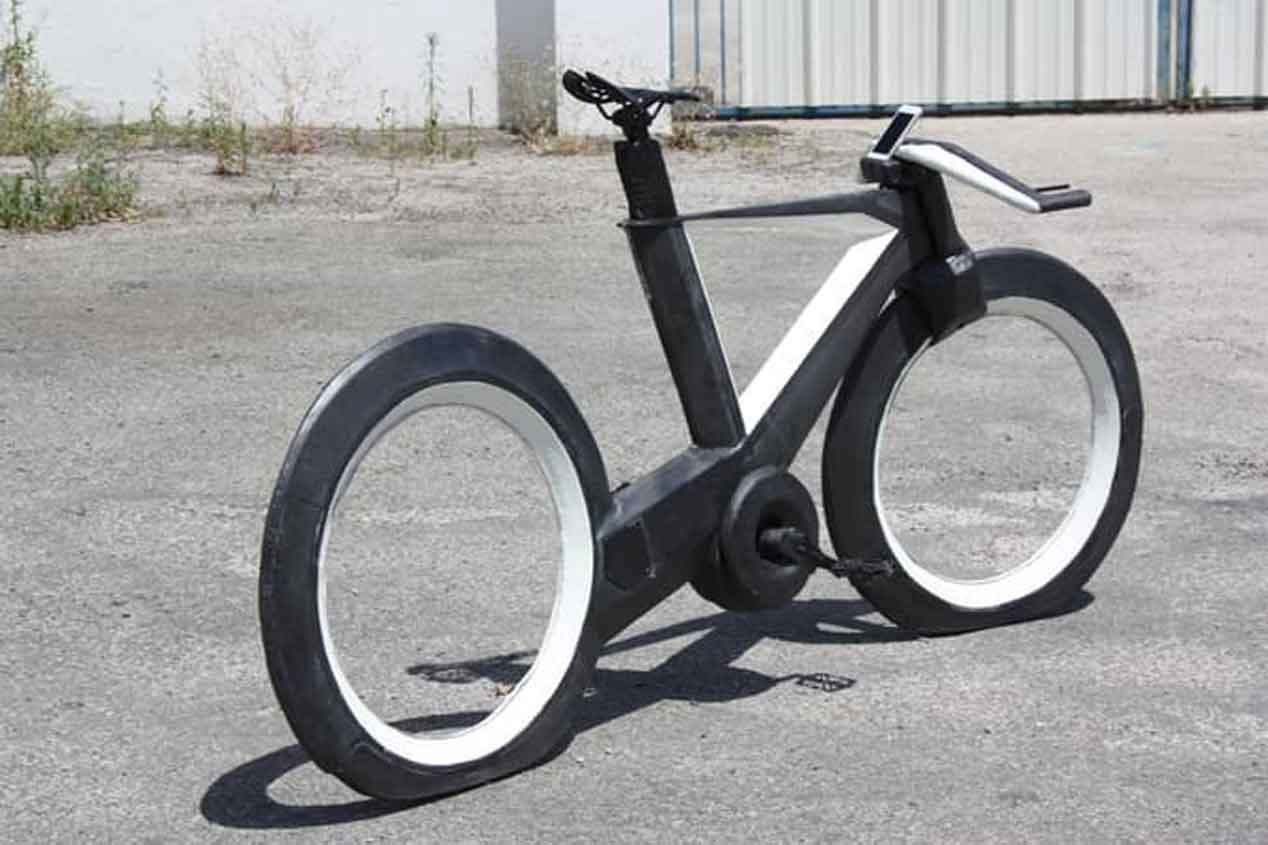 La bicicleta en el futuro ya es una realidad