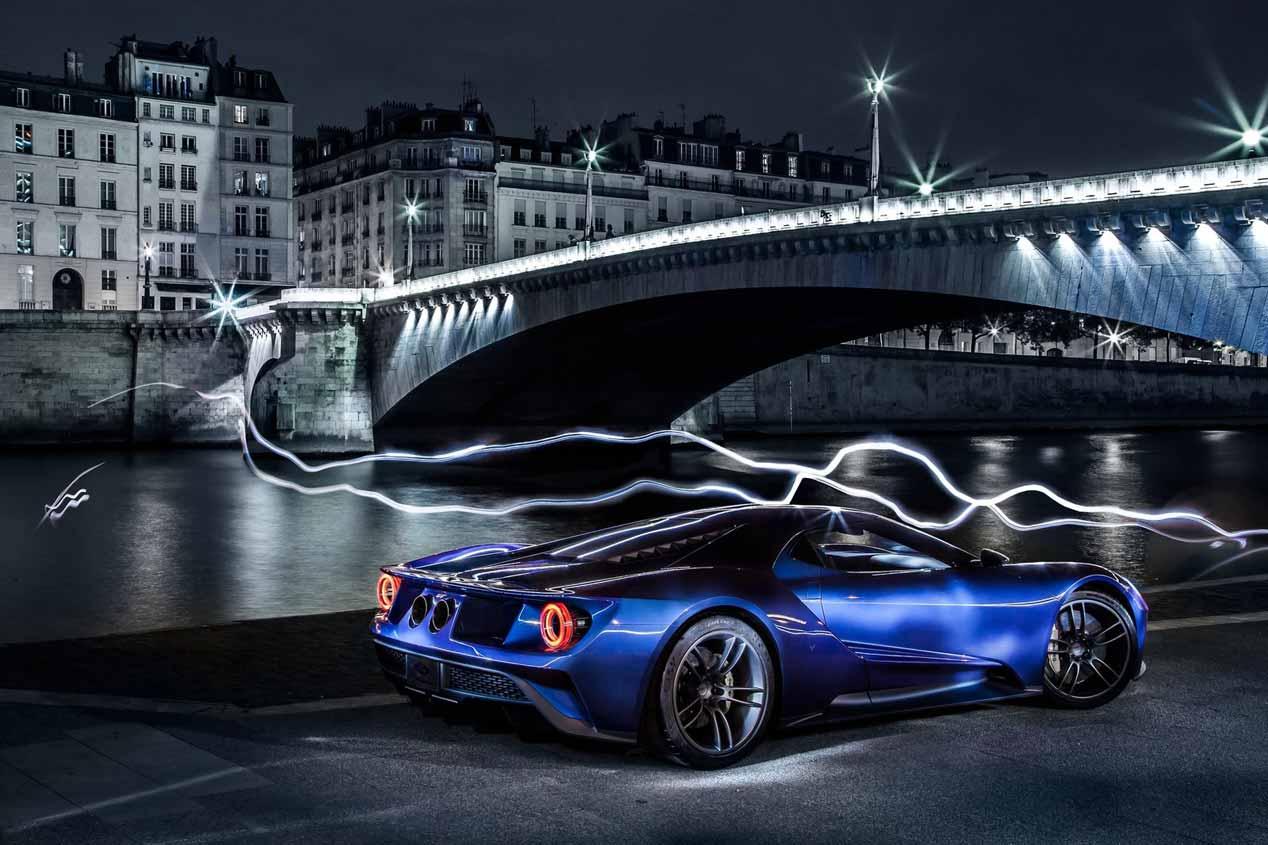 Ford GT en el túnel del viento, fotos del gran superdeportivo