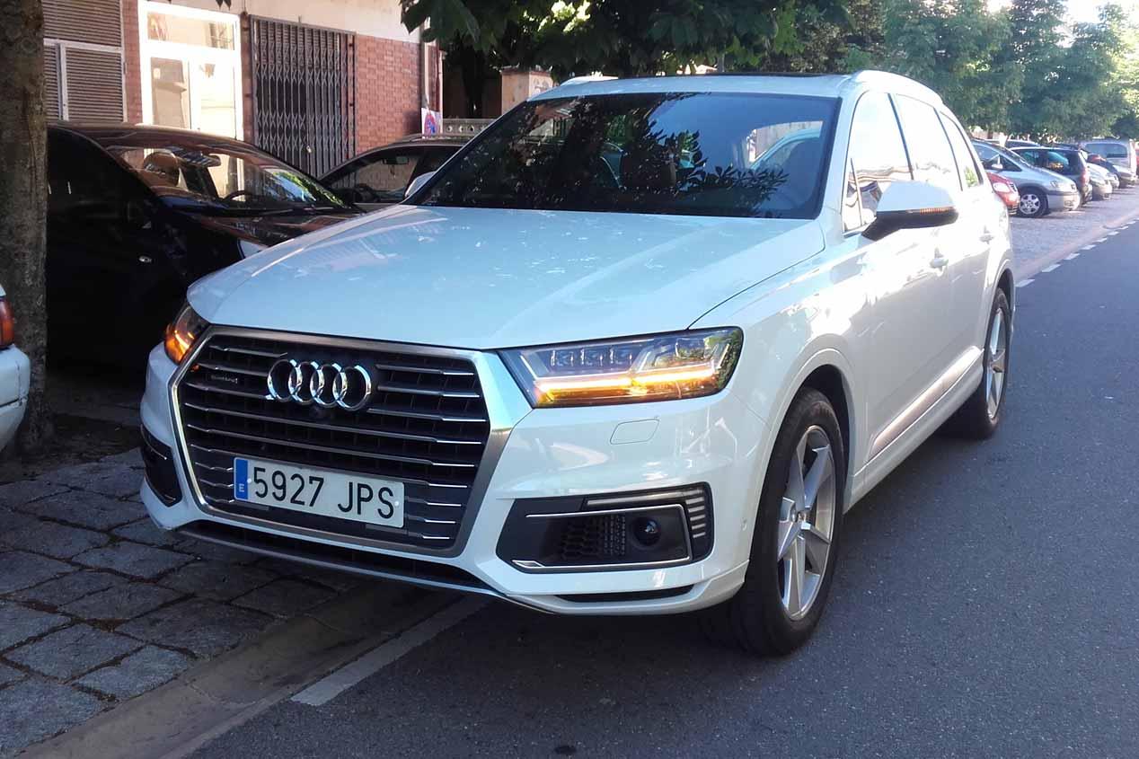 Audi Q7 e-tron 3.0 TDI quattro, imágenes de nuestra prueba