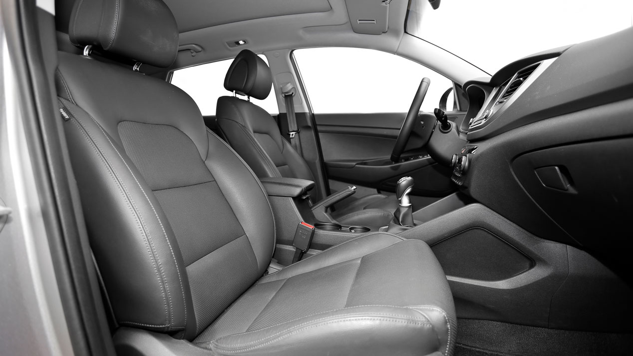 Comparamos el Hyundai Tucson 2.0 CRDi 4x4 frente al VW Tiguan 2.0 TDi 4Motion