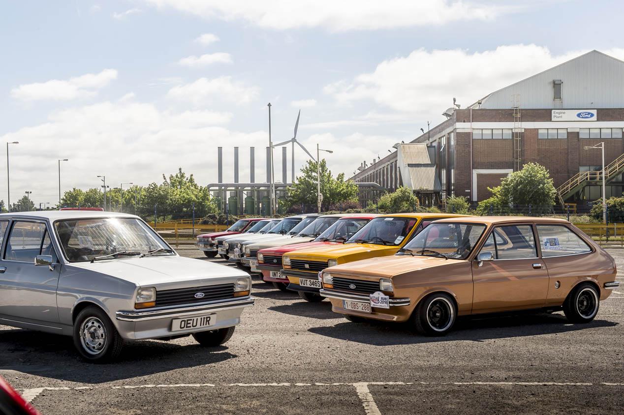 40 años del Ford Fiesta