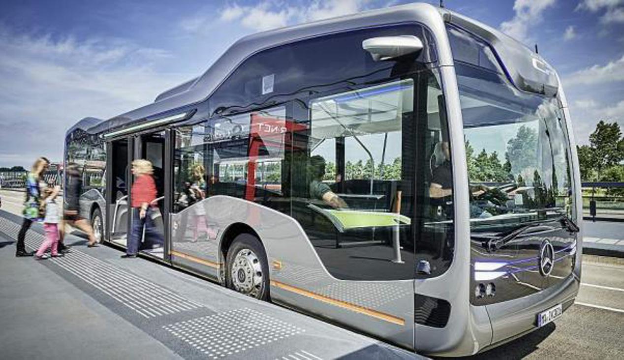 El autobús autónomo de Mercedes-Benz