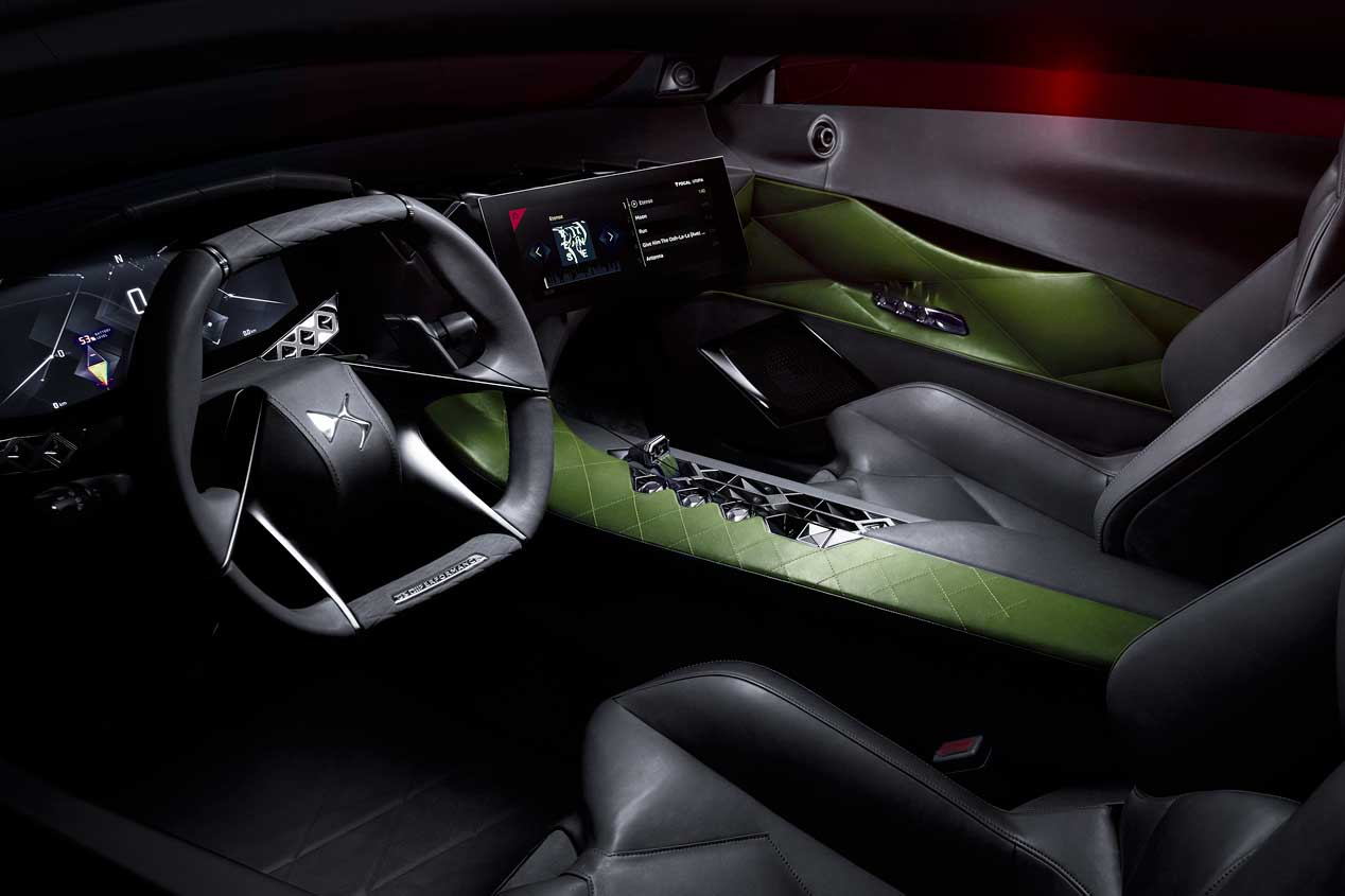 Prueba del DS e-Tense, un deportivo eléctrico de más de 400 CV