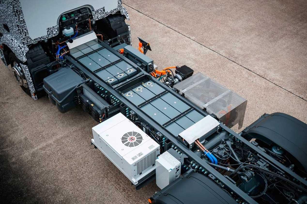 Mercedes-Benz Urban eTruck, camión cien por cien eléctrico