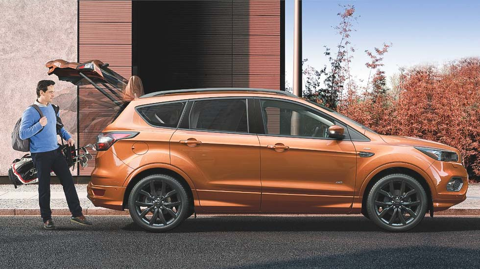 Ford Kuga ST-Line, imagen y equipamiento deportivos