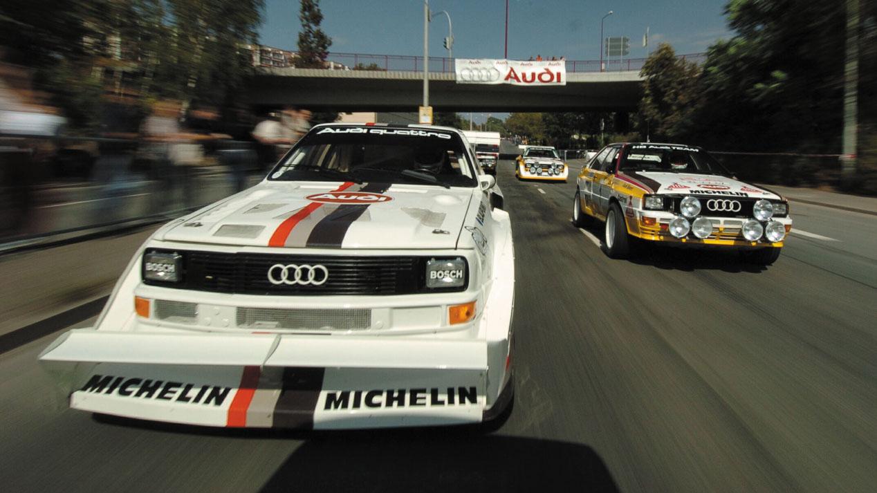 Audi Quattro: la historia de un mito