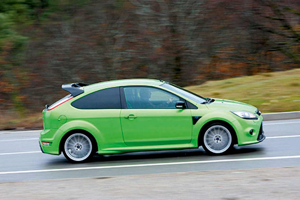 ford focus rs mk1 y mk2  2001