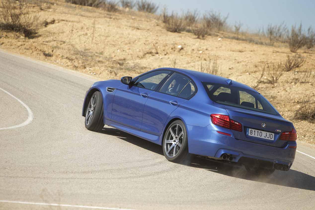 BMW M5 y Lexus GS F, a prueba