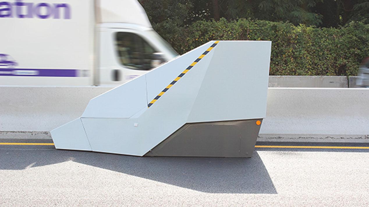 El radar móvil del futuro, a prueba de balas y con WiFi