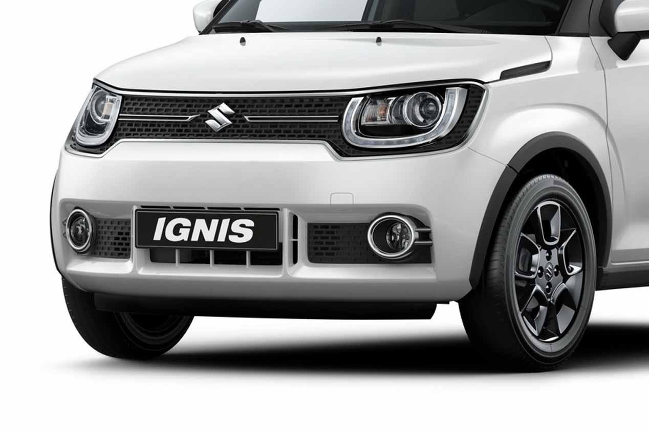 Suzuki Ignis y Suzuki SX4 S-Cross 2017 en el Salón de París