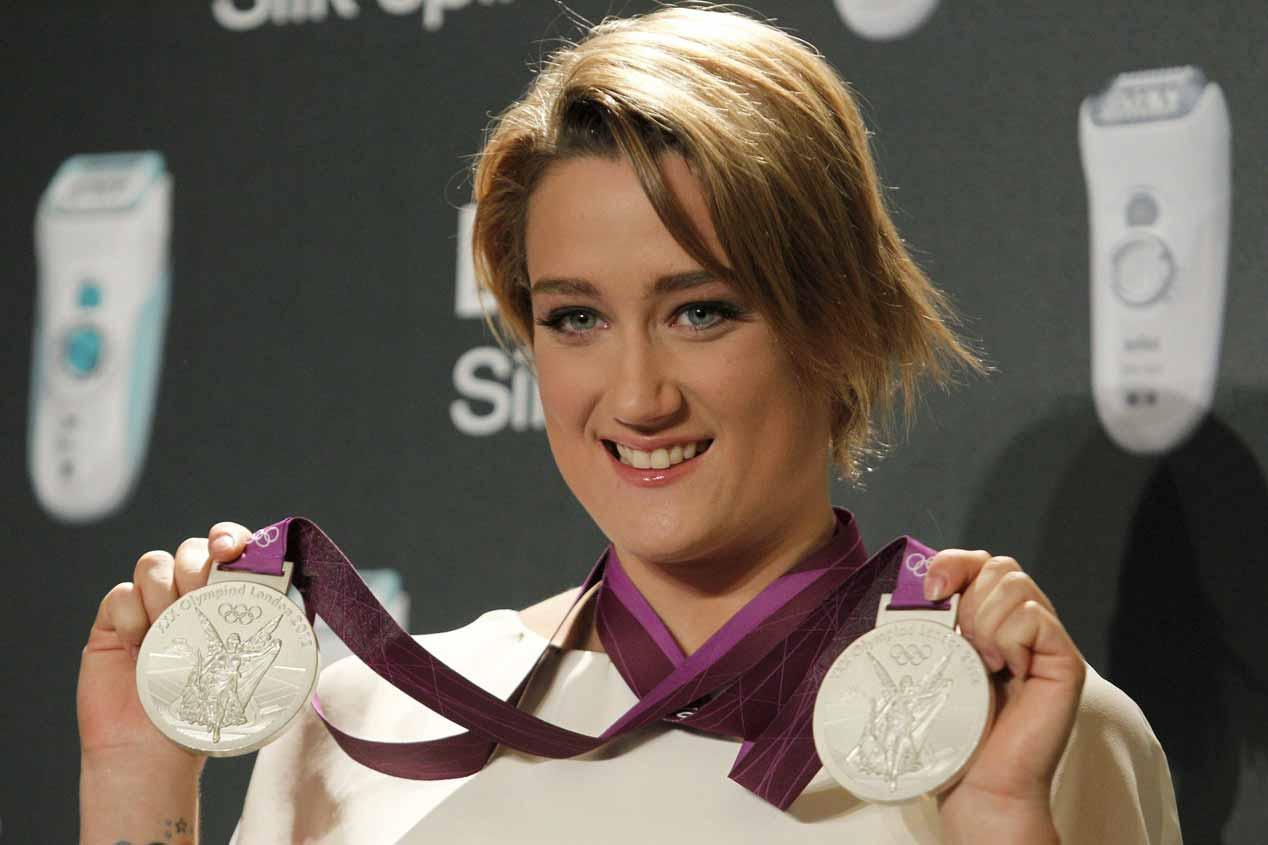 Entrevista a Mireia Belmonte, la  medallista de oro olímpica