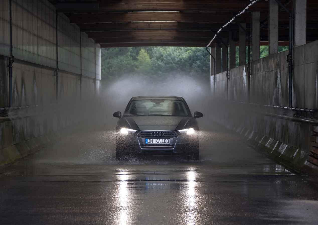 El test de Audi que reduce a 19 meses la vida entera de un coche