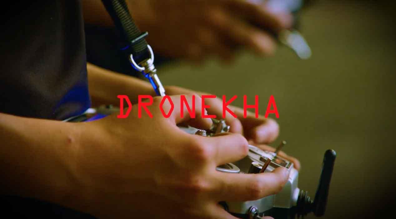 Drones contra un Ford Mustang: es la Dronekhana