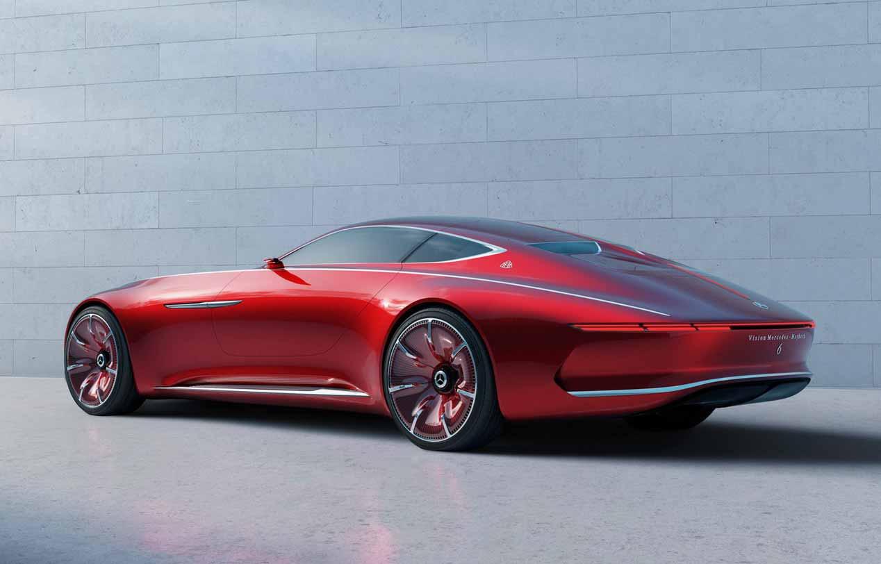 Vision Mercedes-Maybach 6, primeras imágenes