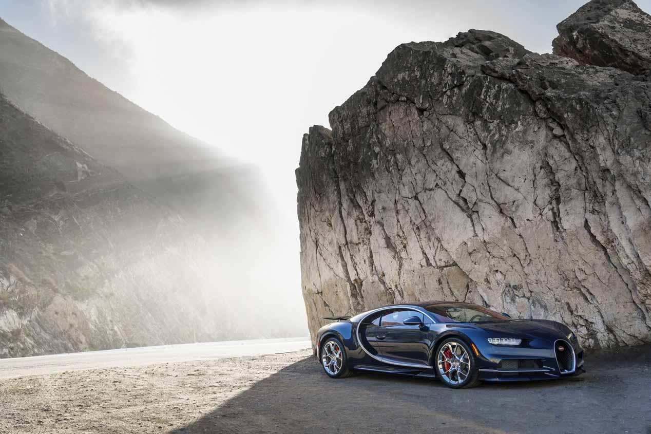 Bugatti Chiron: las mejores fotos del nuevo Dios deportivo
