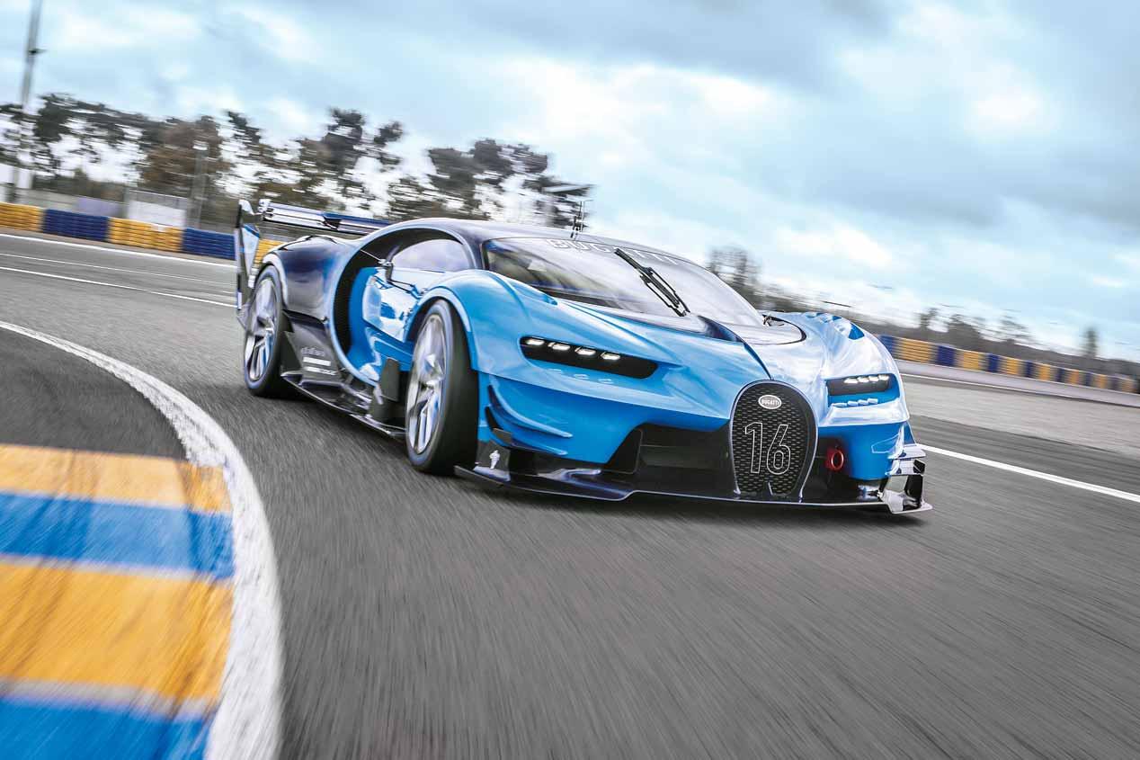 Bugatti Veyron Vision Gran Turismo, fotos de nuestra prueba