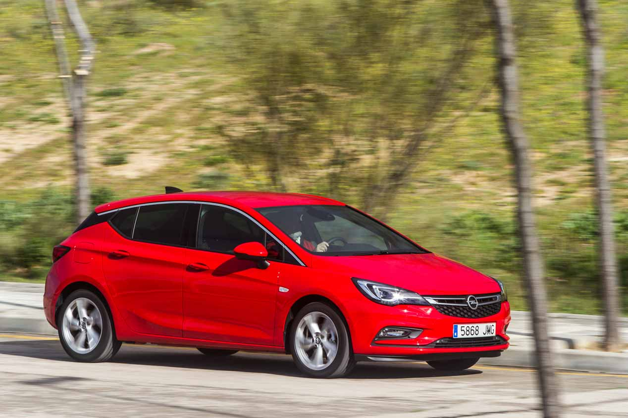 Prueba Opel Astra 1.0 Turbo Dynamic