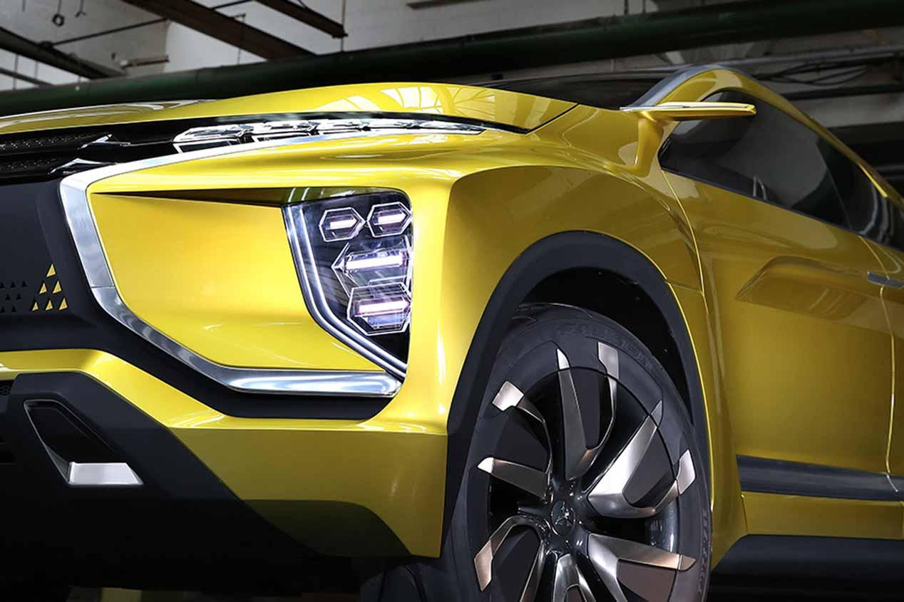Mitsubishi eX Concept: ¿el SUV eléctrico del futuro de Mitsubishi?