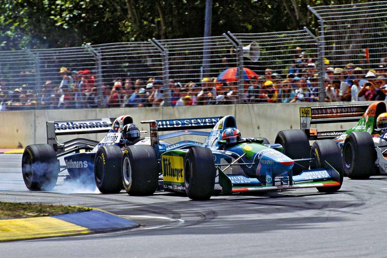 Michael Schumacher: 25 años en la Fórmula 1, en imágenes