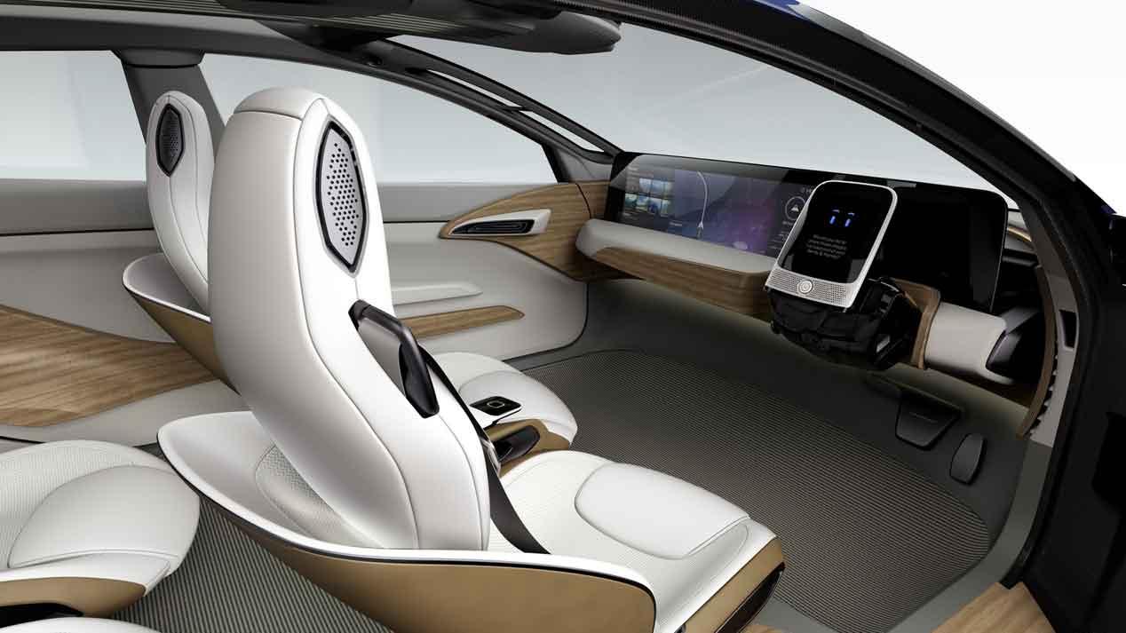 Así será el habitáculo de los coches autónomos del futuro