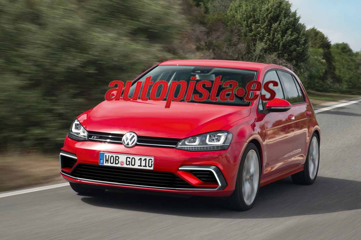 Volkswagen Golf 2017, primeras imágenes
