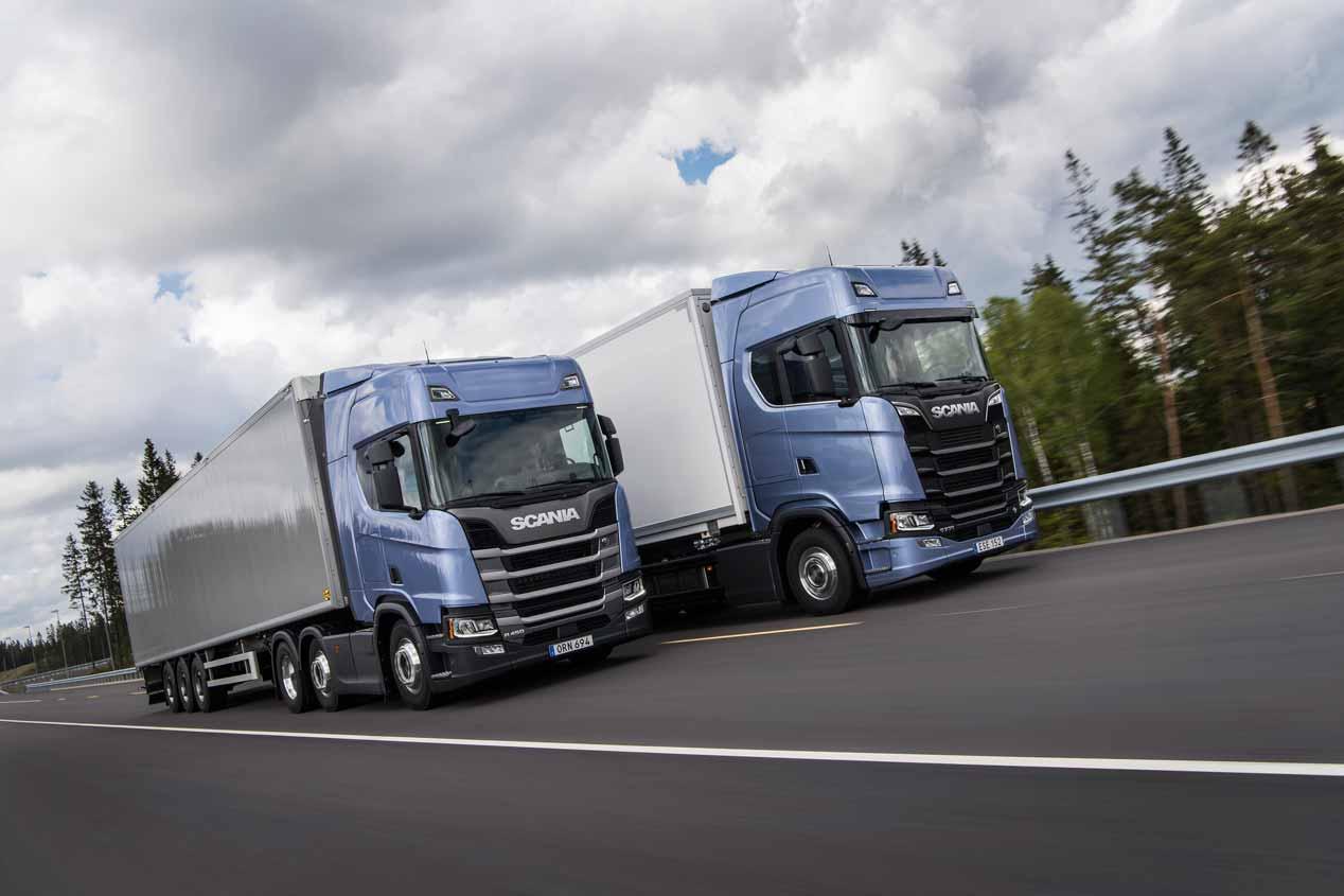 Nuevos camiones Scania 2017, imágenes