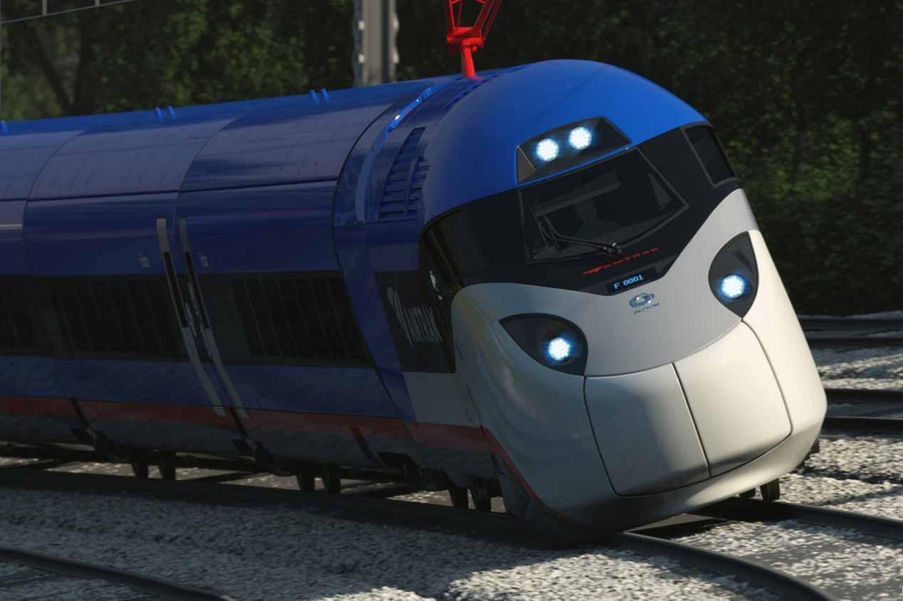 """El """"Tesla"""" de los trenes, en 2021"""