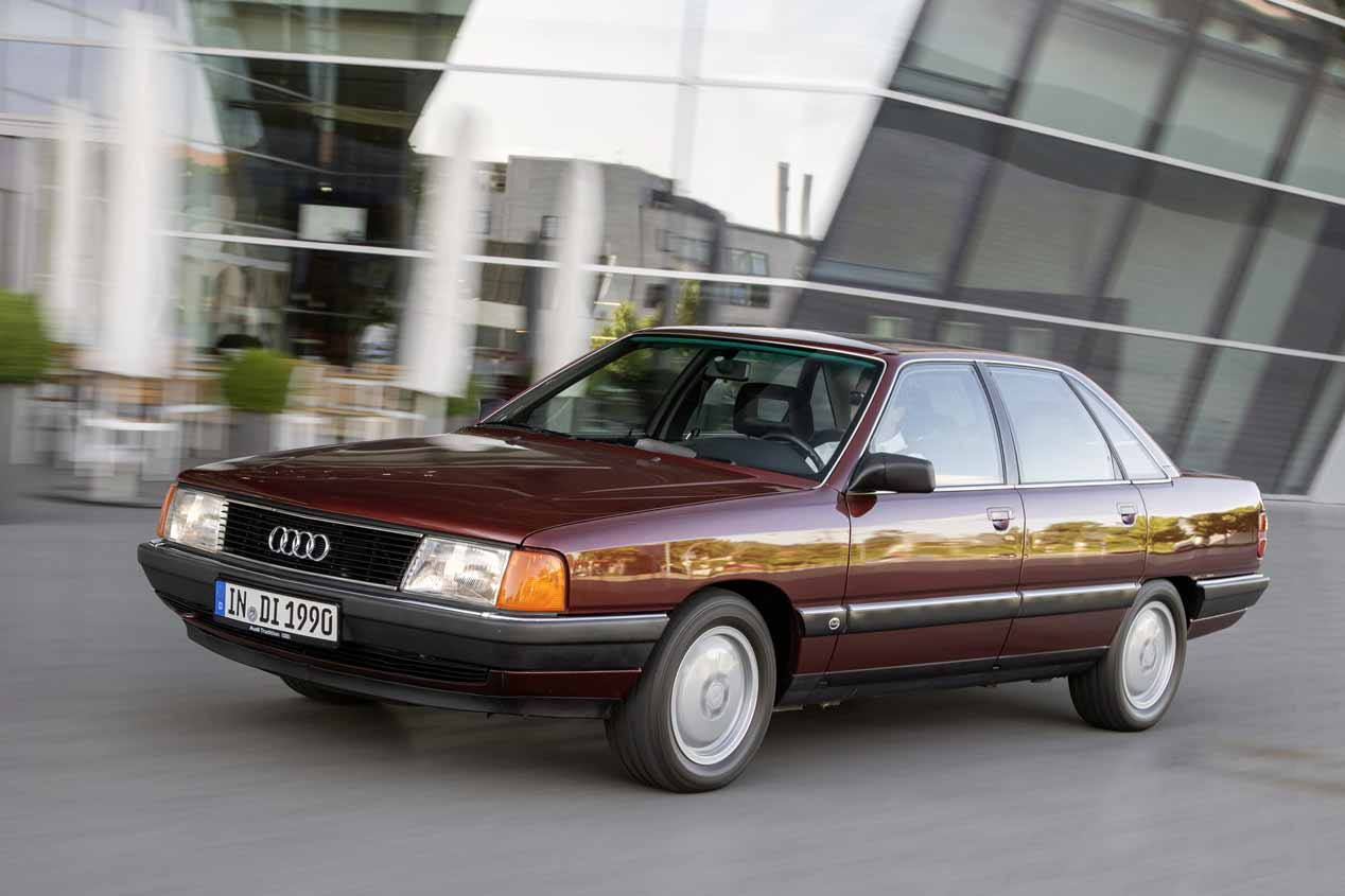 40 aniversario del motor de 5 cilindros de Audi