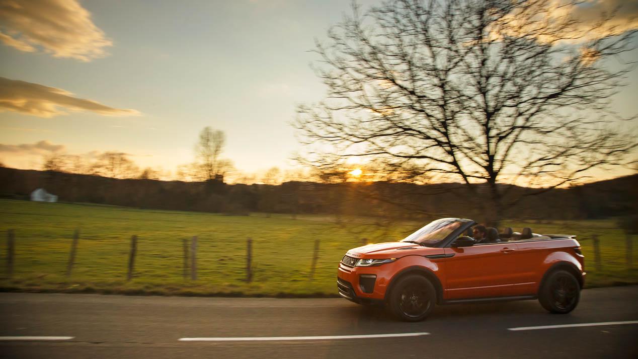 Primeras impresiones del Range Rover Evoque Convertible