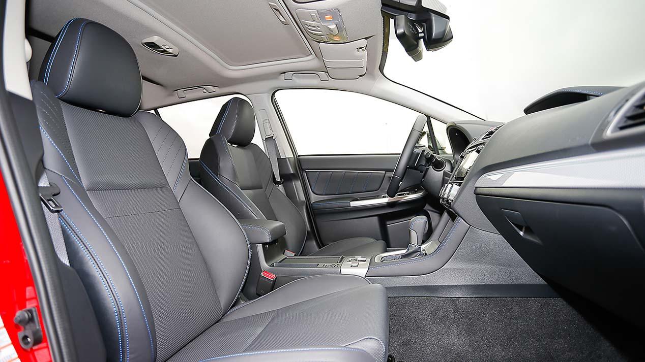 A prueba el Subaru Levorg 1.6 GT-S