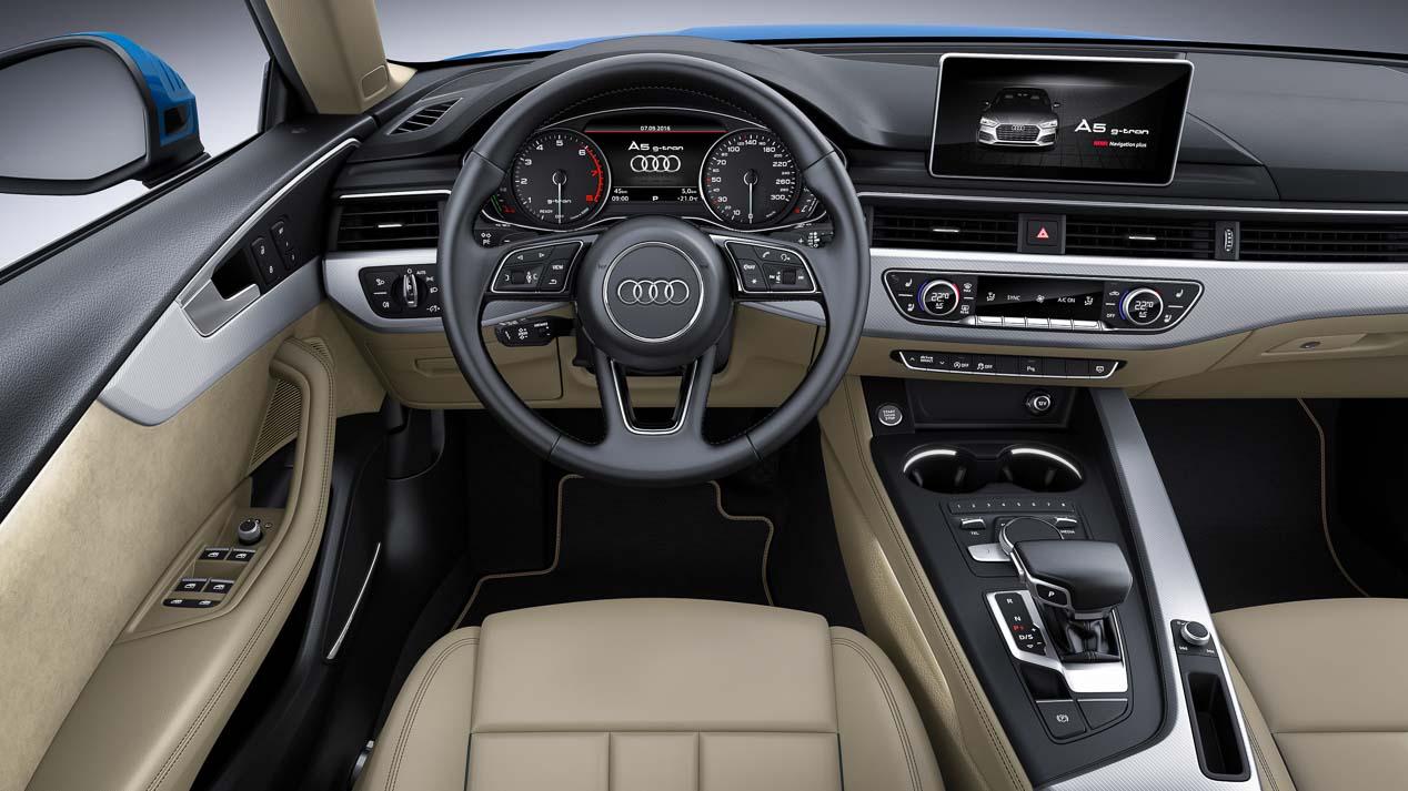 Nuevo Audi A5 y S5 Sportback: llegará a final de año