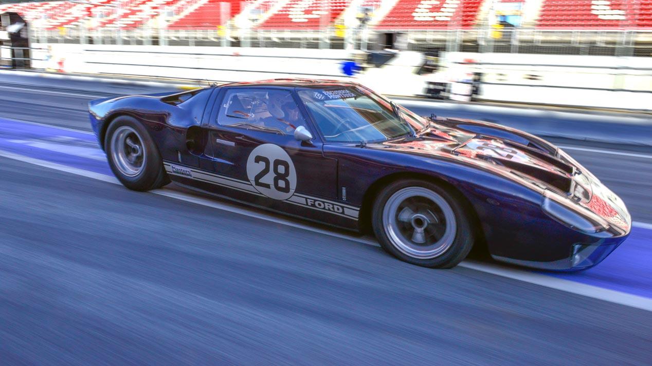 Ford GT40 en Montjuic