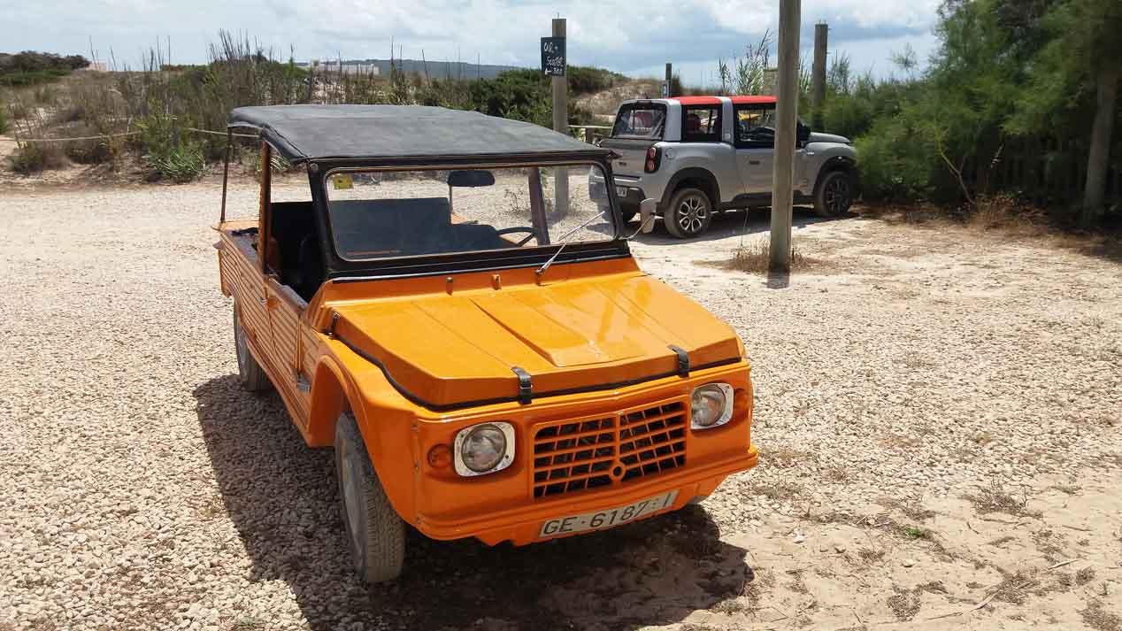 Con el nuevo Citroën e-Mehari por la isla de Formentera