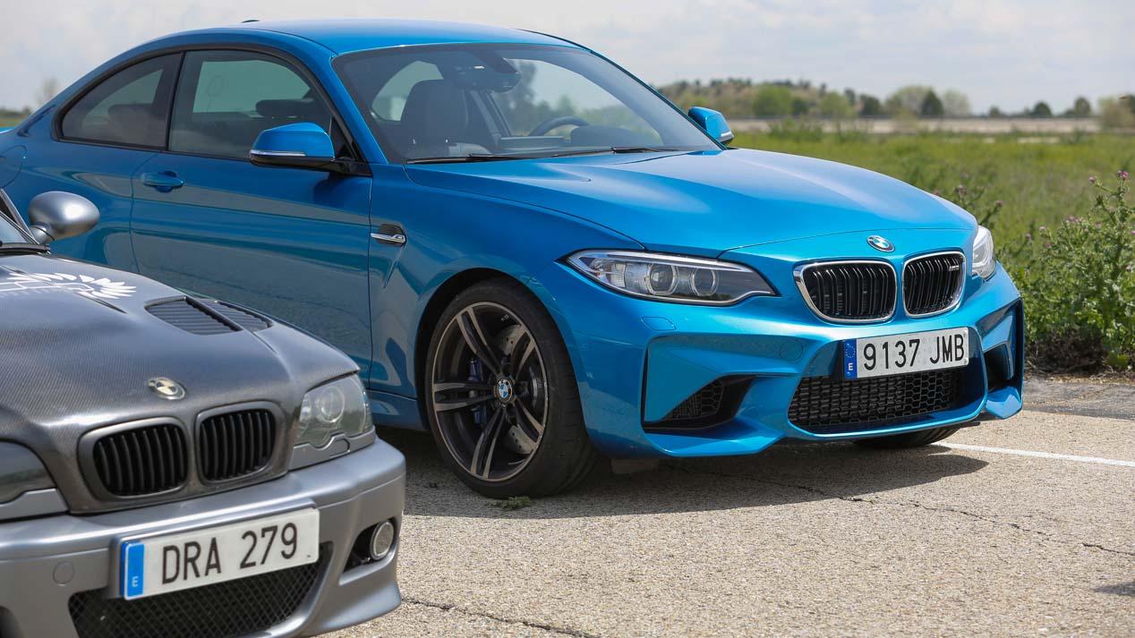 Duelo BMW M3 vs M2 entre Dan Adams y Autopista