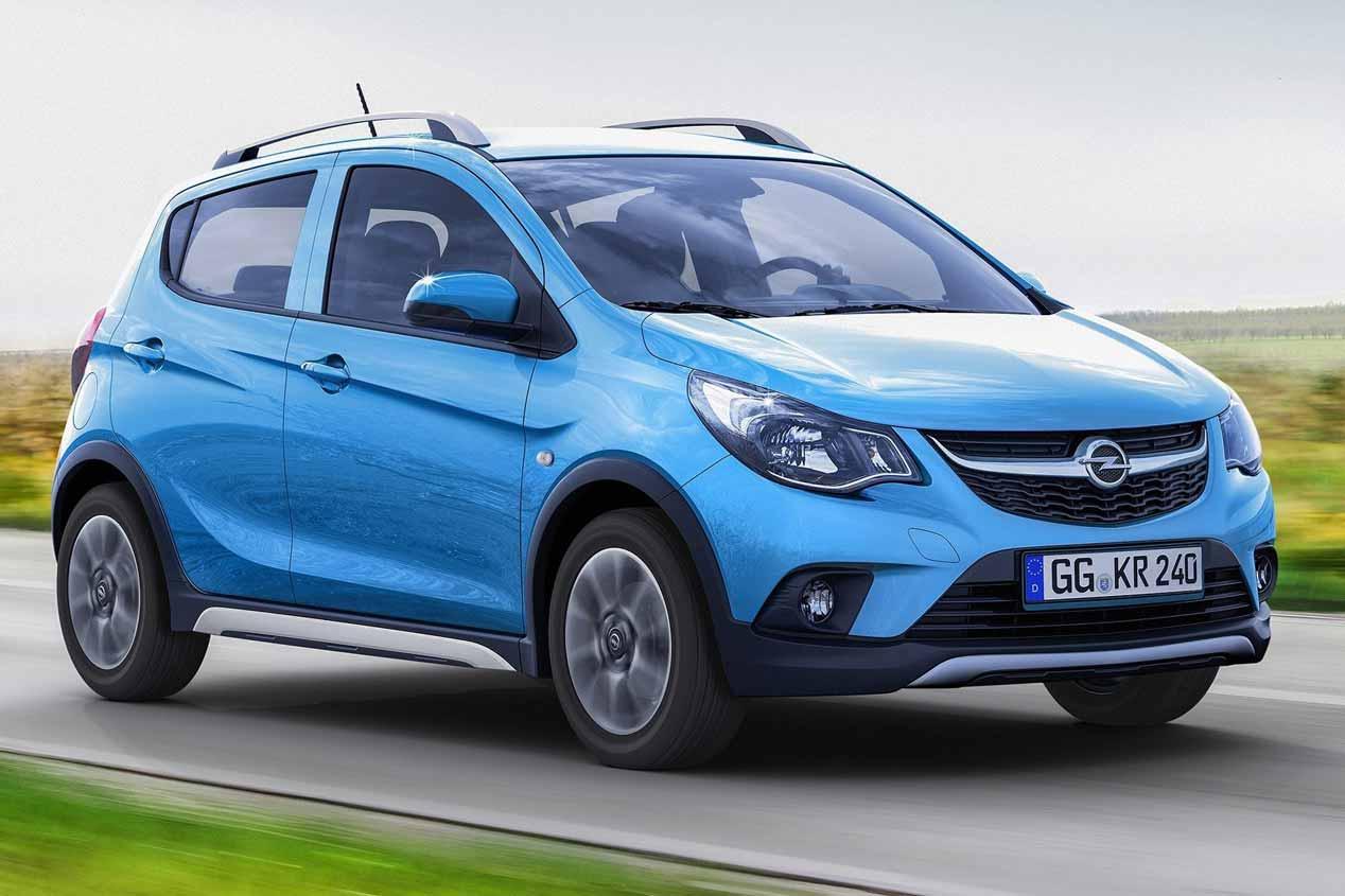 Opel Karl Rocks: diminuto SUV en París 2016