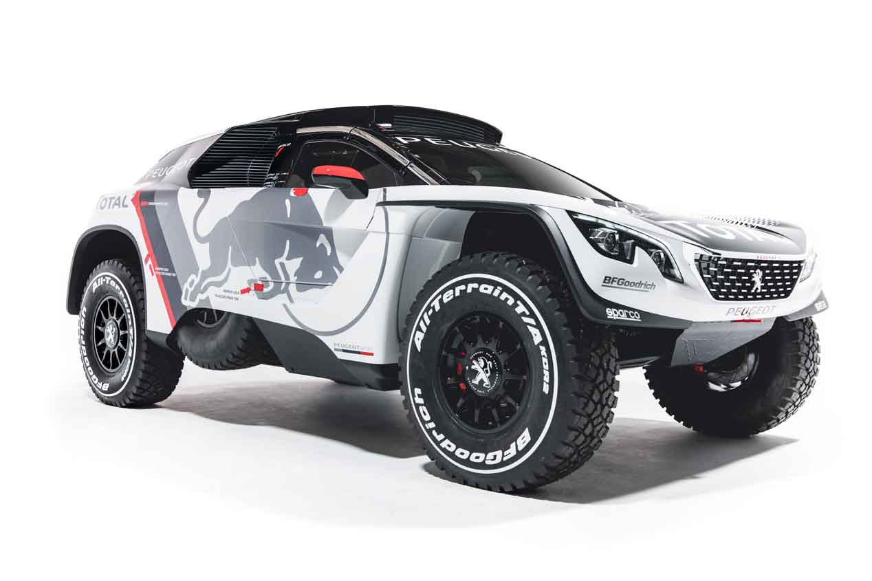 Peugeot 3008 DKR, listo para arrasar en el próximo Dakar