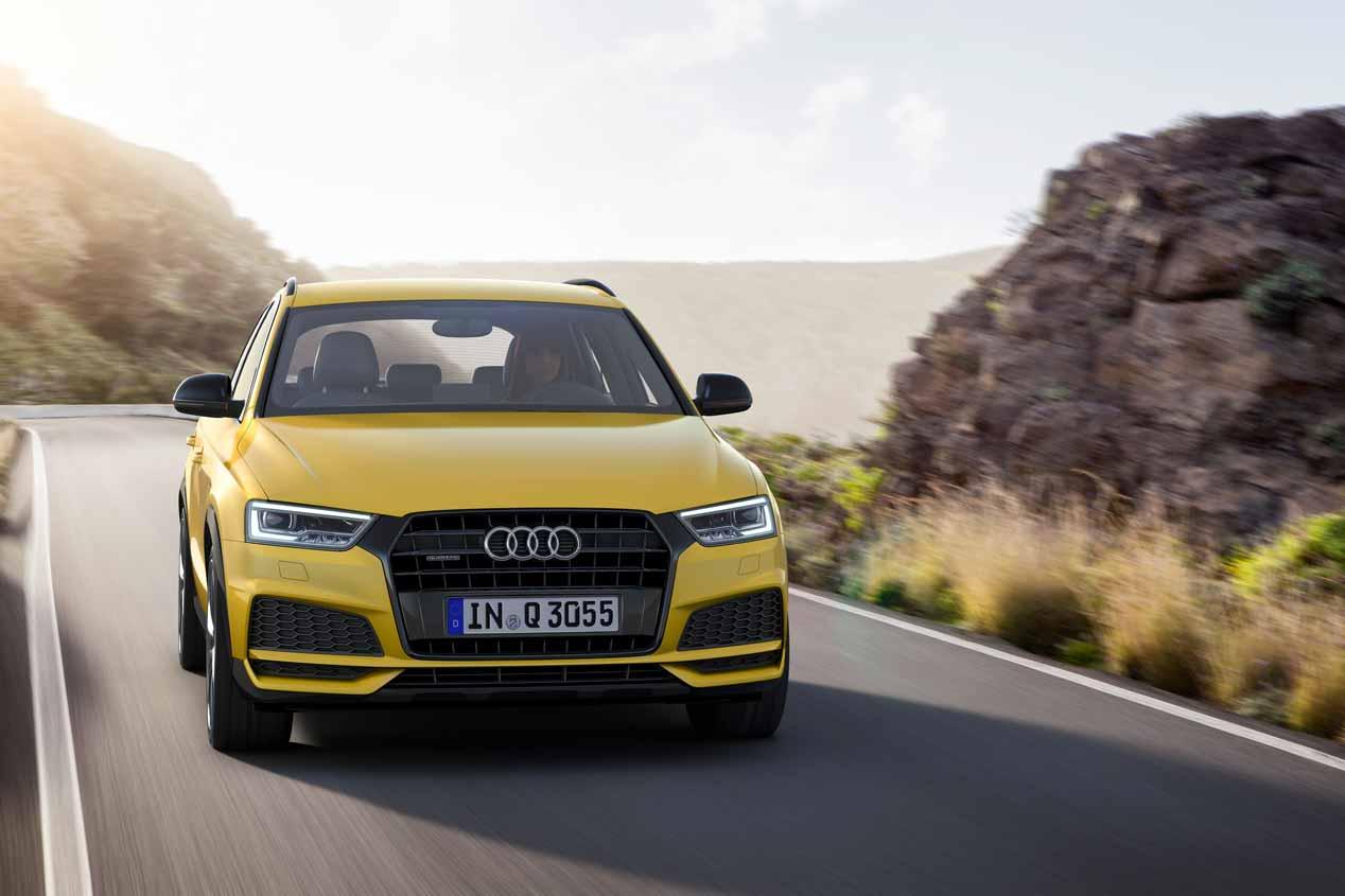 Audi Q3 2017, las mejores fotos de su actualización