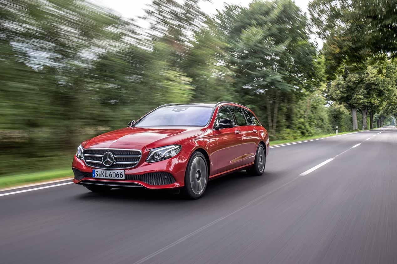 Prueba del Mercedes Clase E Estate familiar