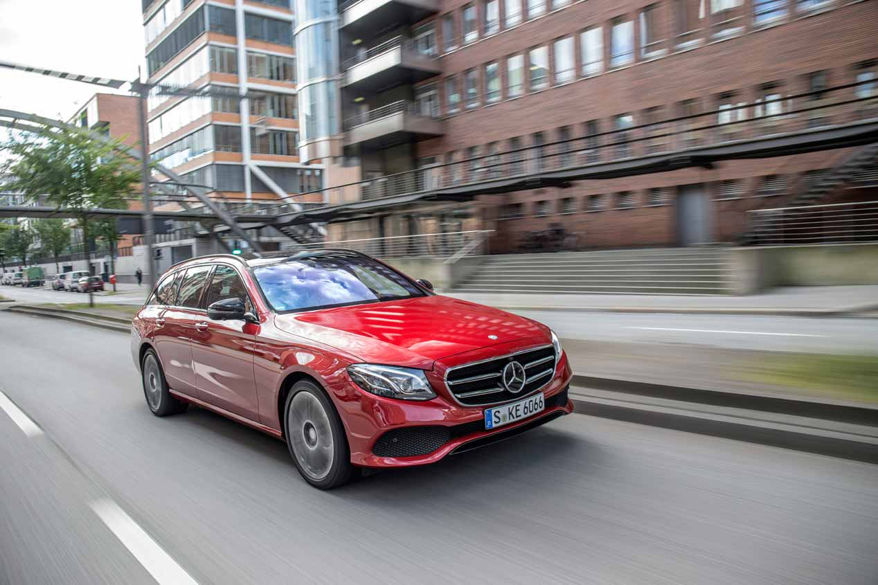 Prueba del Mercedes Clase E Estate familiar