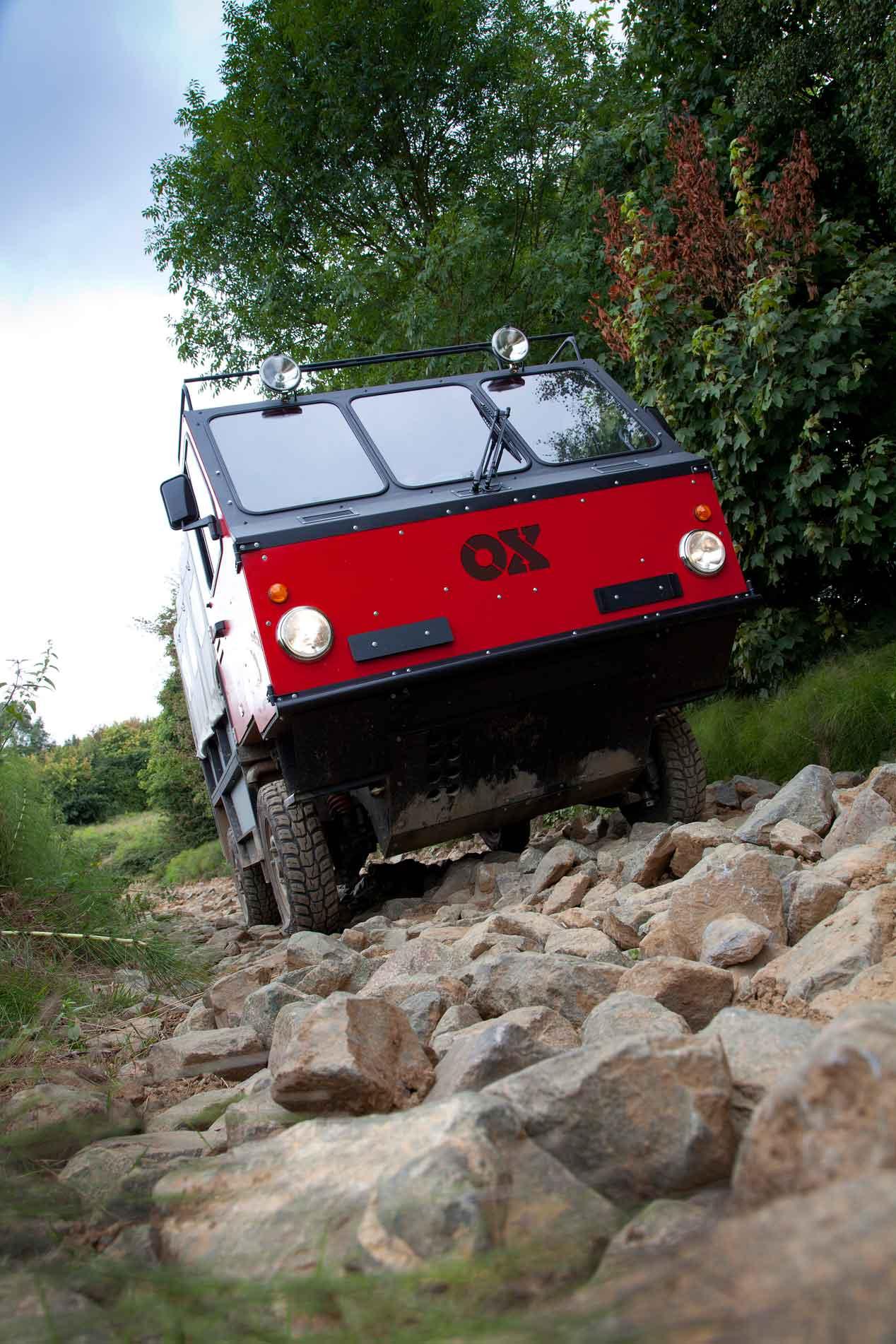 El camión plegable y todoterreno para países en vías de desarrollo