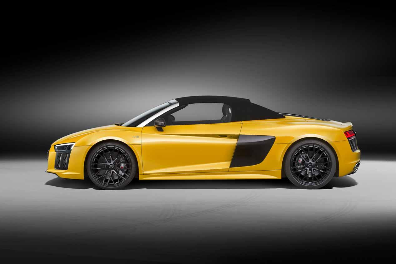 Audi inicia en España la comercialización del Audi R8 Spyder