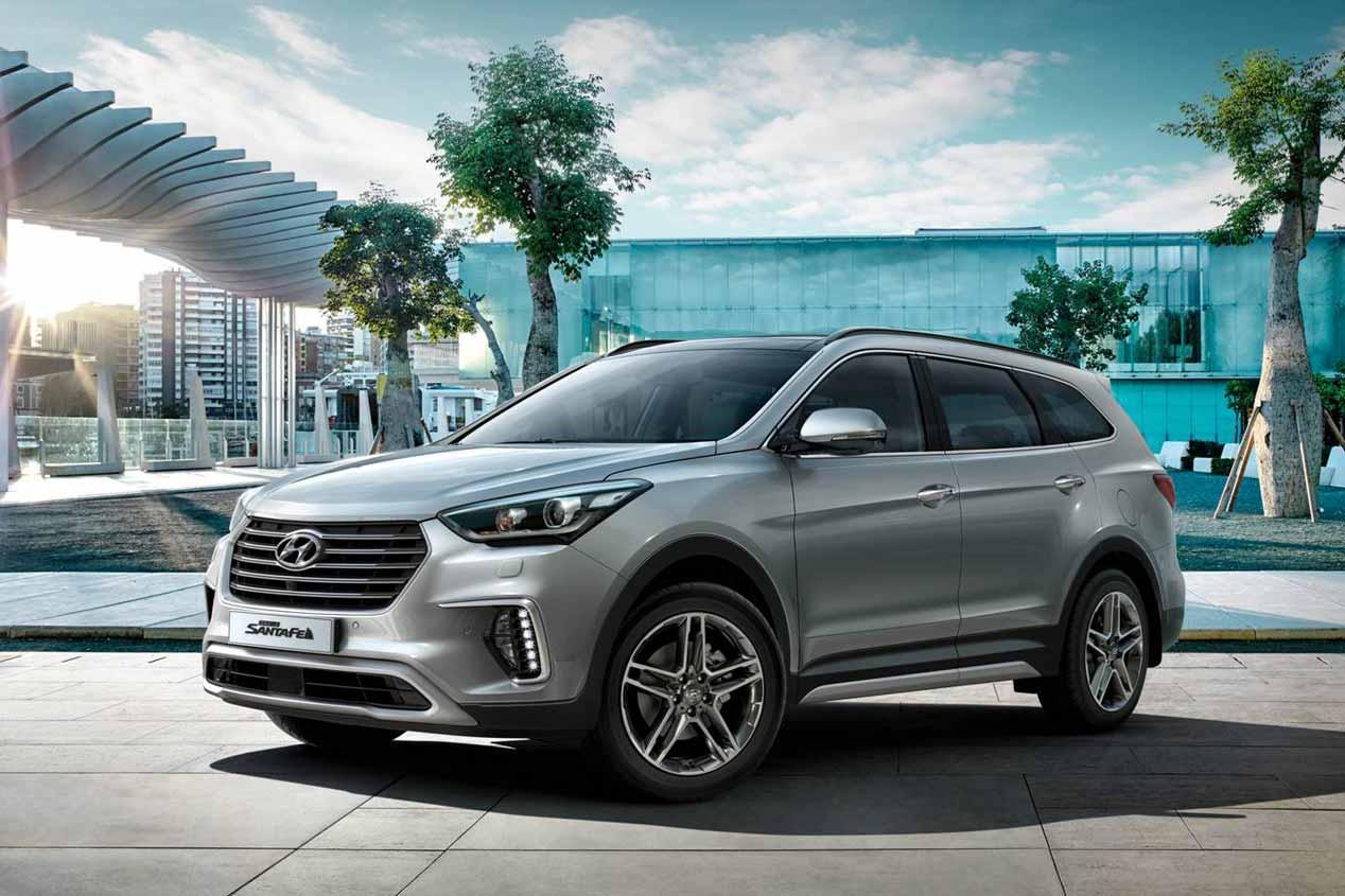 Hyundai Grand Santa Fe 2017, imágenes