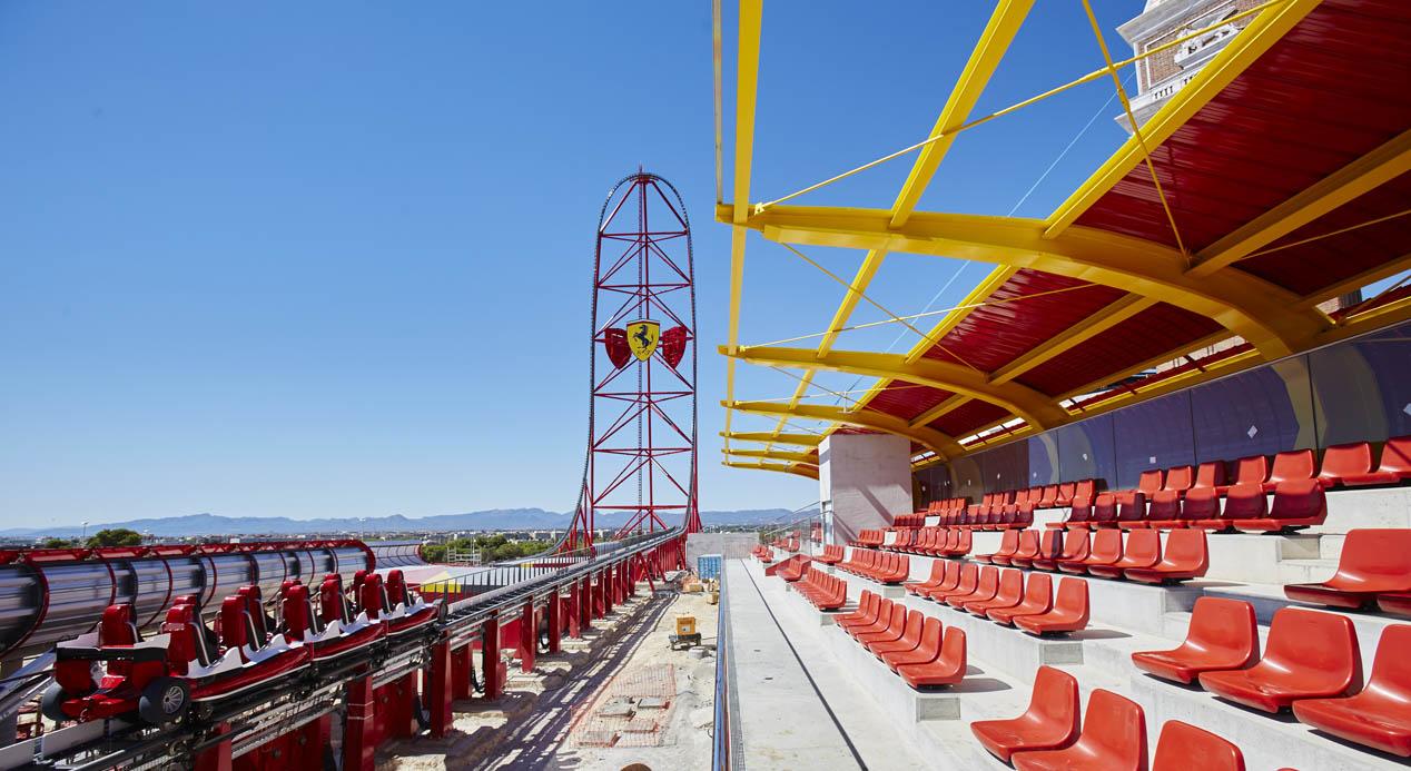 Ferrari Land, visitamos el parque temático de España