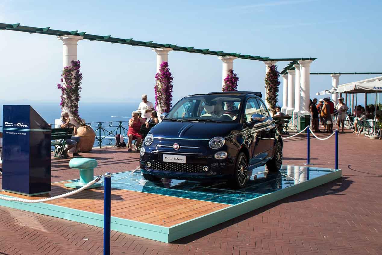 Fiat 500 Riva, el coche exclusivo con sabor a salitre que debutará en el Salón de París