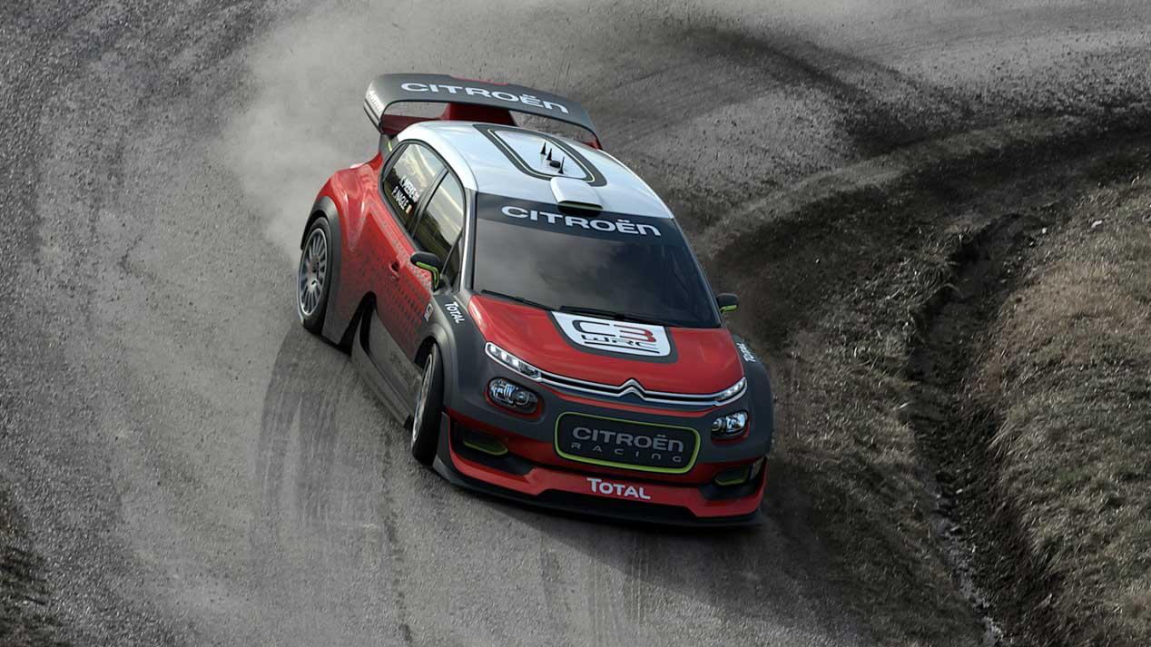 Nueva arma de Citroën para el Mundial de Rallyes