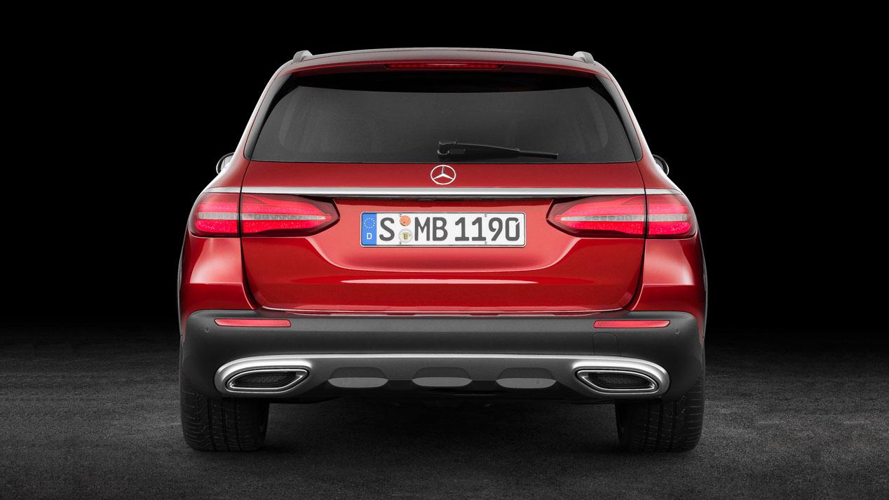 Mercedes E All Terrain, imágenes del nuevo modelo